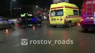 Сбили пешехода на Театралке 3.4.2018 Ростов-на-Дону Главный