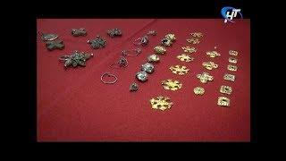 Новгородский музей-заповедник показал восстановленные артефакты из Новоторжского клада