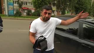 ДТП на ул  Лепсе, Веста и фура  Место происшествия 06 08 2018