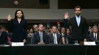 Руководство Facebook и Twitter заслушали в комитете по разведке США…