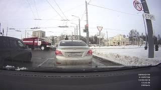 ДТП город Владимир 13.03.2018, площадь Фрунзе