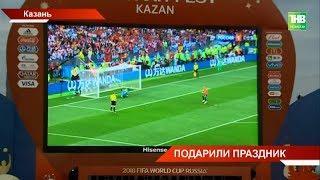 Казань гуляла до утра: впервые в истории Россия вышла в четверть финал чемпионата мира по футболу