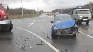 ДТП на окружной дороге в Ярославле, есть пострадавшие