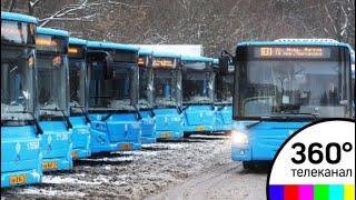 На юго-западе Москвы загорелись 12 автобусов