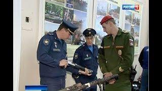 Военные экспонаты из Сирии представили в ростовском Доме офицеров