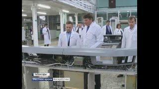 Замминистра энергетики России Андрей Черезов посетил электротехнические предприятия республики