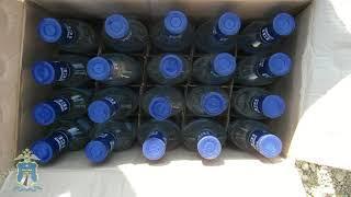 Три грузовика с поддельным алкоголем задержали полицейские в Благодарном