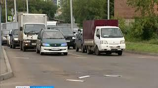 Красноярская мэрия поменяла схему движения на улице Копылова