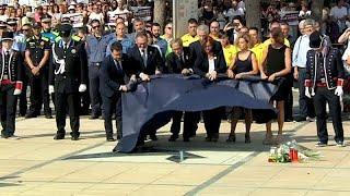 Памятная церемония в Камбрильсе