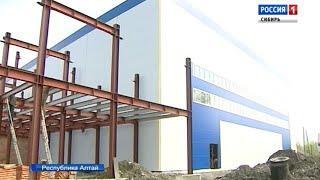 Строительство новой ледовой арены завершают в Республике Алтай