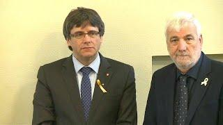 Карлес Пучдемон задержан в Германии