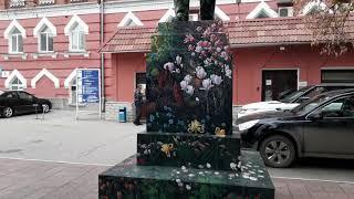 В Саратове расписали Ленина
