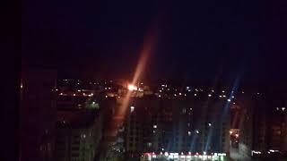 В Сыктывкаре ночью горел склад на улице Индустриальной