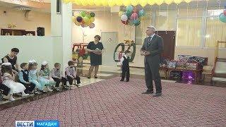 Колымских сирот посетил врио губернатора Сергей Носов
