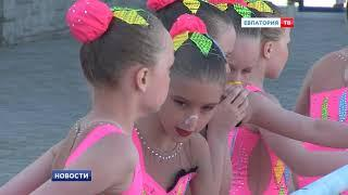 Более 500 синхронисток со всей России в Евпатории