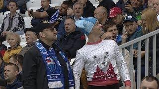 Эмоции болельщиков перед первым тестовым матчем на «Волгоград Арене»