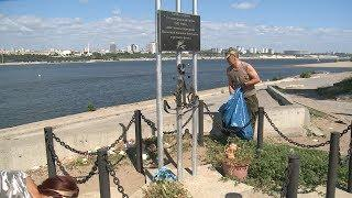 «Маяки дружбы»: межрегиональный отряд волонтеров расчистил берег Волги