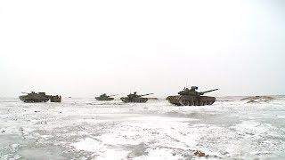 На полигоне Прудбой танкисты отработали новые формы ведения боя