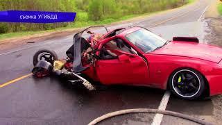 Обзор аварий  Вятскополянский район, погиб водитель 12  Место происшествия 25 05 2018