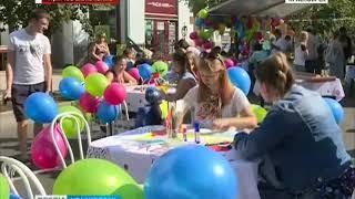 Прямое включение: красноярцы празднуют День города