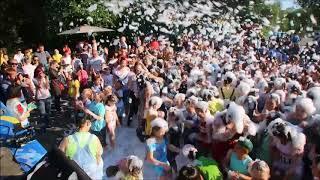 Пенная вечеринка - День молодежи в Оренбурге 2018, парк Перовского