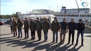 Память моряков, погибших в годы войны, почтили КЮМовцы