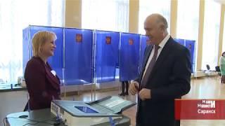 Николай Меркушкин проголосовал на выборах Президента России