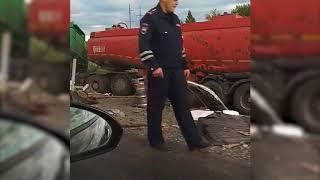 На трассе «Курган-Челябинск» жуткое ДТП: ГАЗель зажало между двух грузовиков