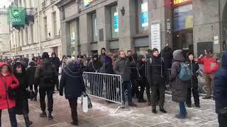 Фанаты ждут лидера Rammstein  в Петербурге