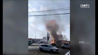 В Ставрополе взорвался автомобиль