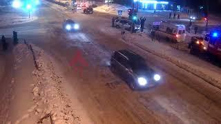 ДТП Машиностроителей/С.Орджоникидзе. 04.03.18.