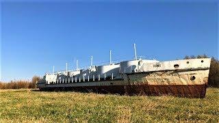 В Ханты-Мансийске нашли заброшенный танкер
