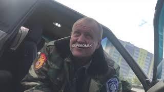 Пойманный на дороге пьяный казак занимался контролем скорости