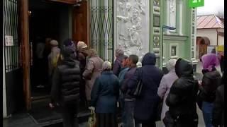 Тысячи верующих пришли в Свято Симеоновский храм, чтобы приложиться к мощам святого Луки