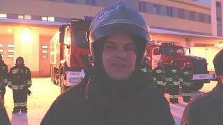 """Эффектное поздравление с 8 марта: гигантская """"живая"""" открытка и огненное шоу от томских пожарных"""