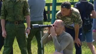 Команды силовиков ЕАО состязались в служебном биатлоне(РИА Биробиджан)