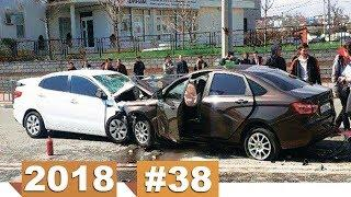 Новые записи с видеорегистратора ДТП и Аварий #38 (26.03.2018)