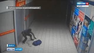 В Бийске совершено похищение ювелирных изделий на миллион рублей