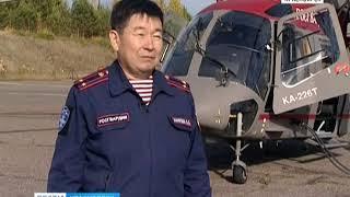 Авиаспецназ Росгвардии начал тренировочные облёты спортивных сооружений на новом вертолёте Ка-226Т