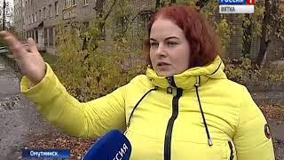 В Омутнинске продолжаются работы по благоустройству (ГТРК Вятка)
