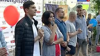 В Кирове открылась первая профессиональная площадка для ворк-аута(ГТРК Вятка)