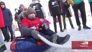 В Саранске прошел всероссийский День зимних видов спорта