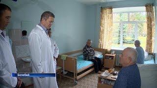 Радий Хабиров посетил социальные объекты Белебеевского и Благоварского районов: репортаж «Вестей»