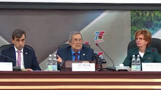 Аман Тулеев стал новым спикером парламента Кузбасса