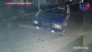 В Дагестане автомобиль сбил на пешеходном переходе мать с двумя детьми