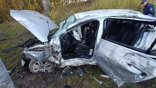 В жутком ДТП на ул. Рязанской в Туле погиб мужчина