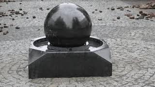 В Рыбинске установили крутящийся фонтан