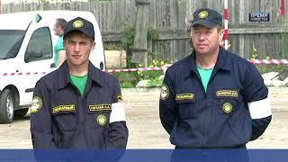 Ухтинский отряд противопожарной службы Коми - первый