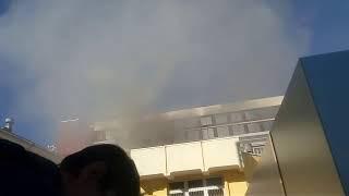 Пожар в центре Ставрополя локализовали