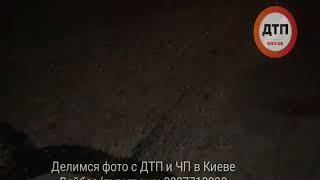 Ночное пьяное ДТП в Киеве на ул. Жмаченко.    Ночные покатушки закончились у #Nissan #xtrail